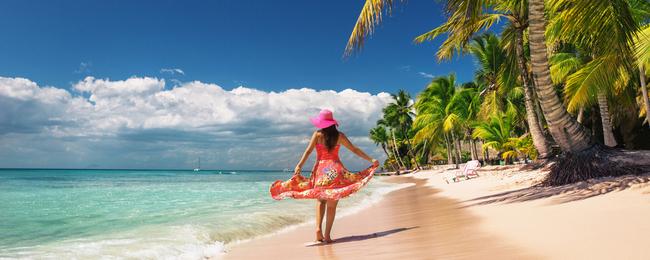 Dominikana turystka