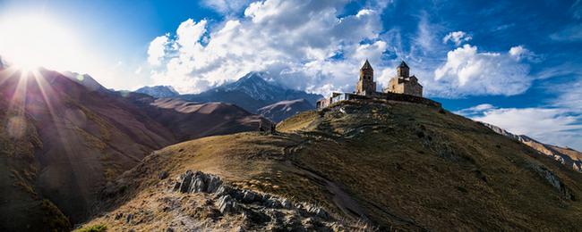 Gruzja góra Kazbek