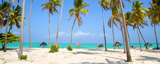 plaża na Zanzibarze