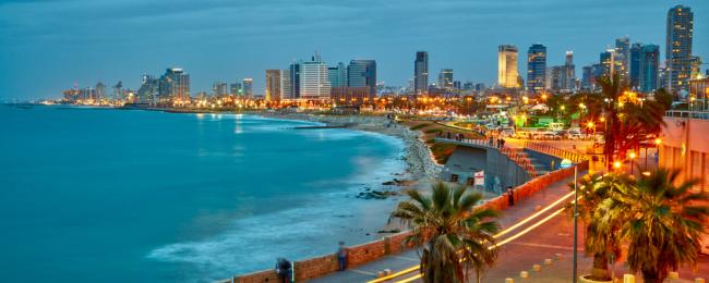 Tel Awiw plaża