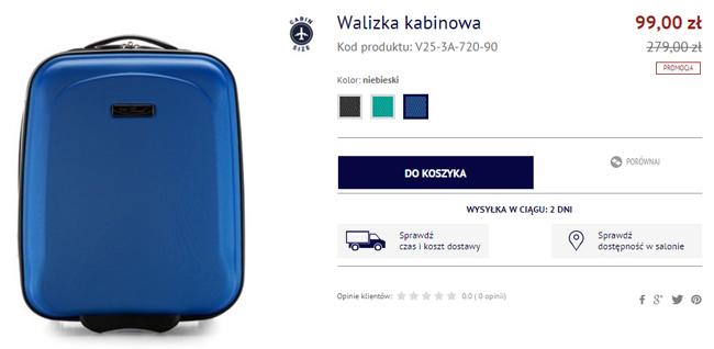 c1c7e6d088e3b Kup walizkę do Wizz Air! Mały bagaż podręczny za 99 PLN - Fly4free ...