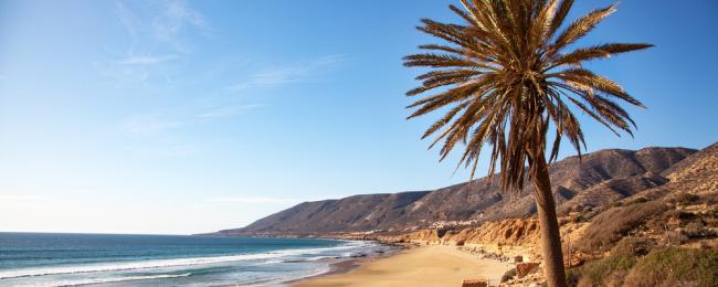 Taghazout plaża