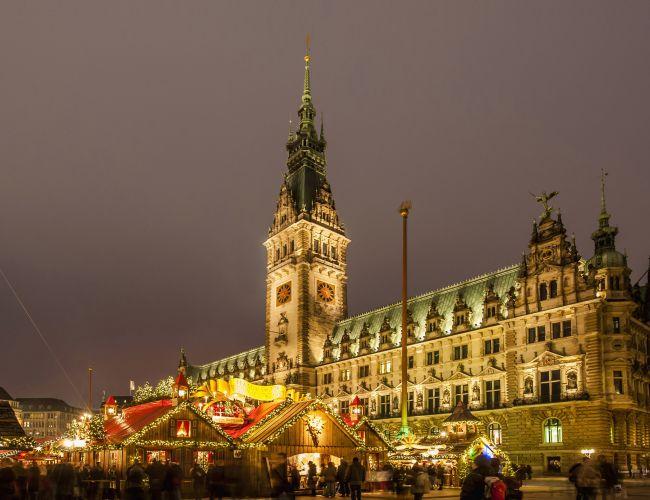 Jarmark świąteczny w Hamburgu