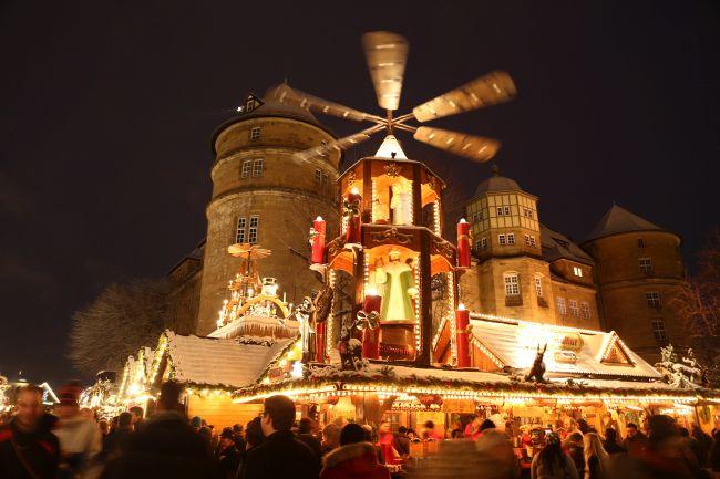 Jarmark świąteczny w Stuttgarcie
