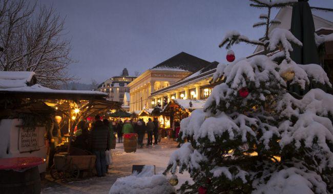 Jarmark świąteczny w Baden-Baden