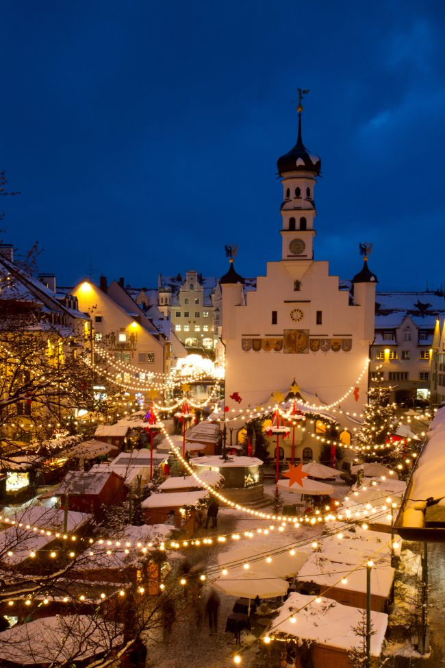 Jarmark świąteczny w Kempten