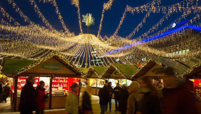Jarmark świąteczny w Essen