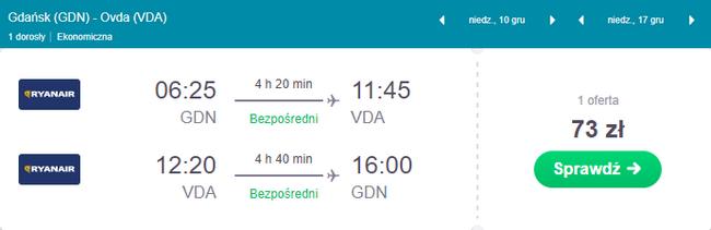 rezerwacja biletów z Gdańska do Izraela
