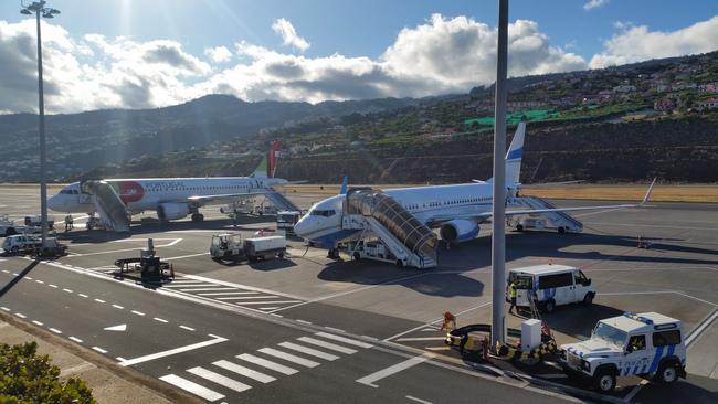 Enterair na lotnisku w Funchal