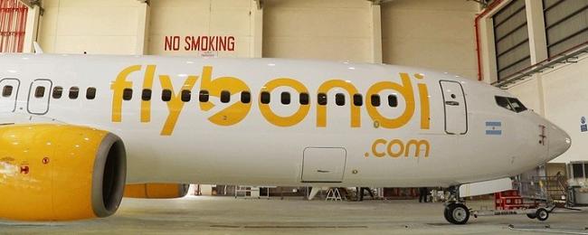 flybondi samolot