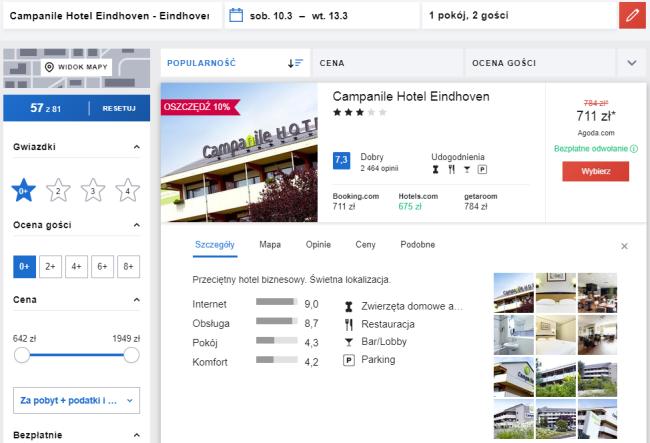 Eindhoven hotel