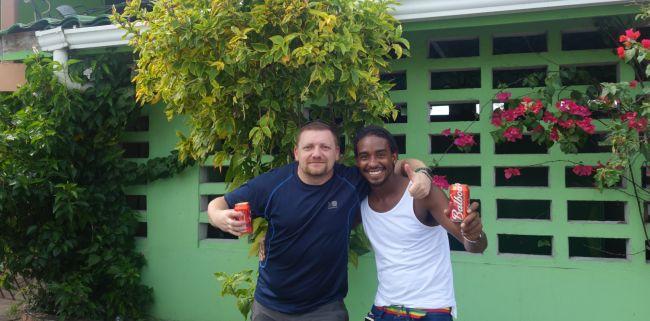 spotkanie z Jose w Panamie