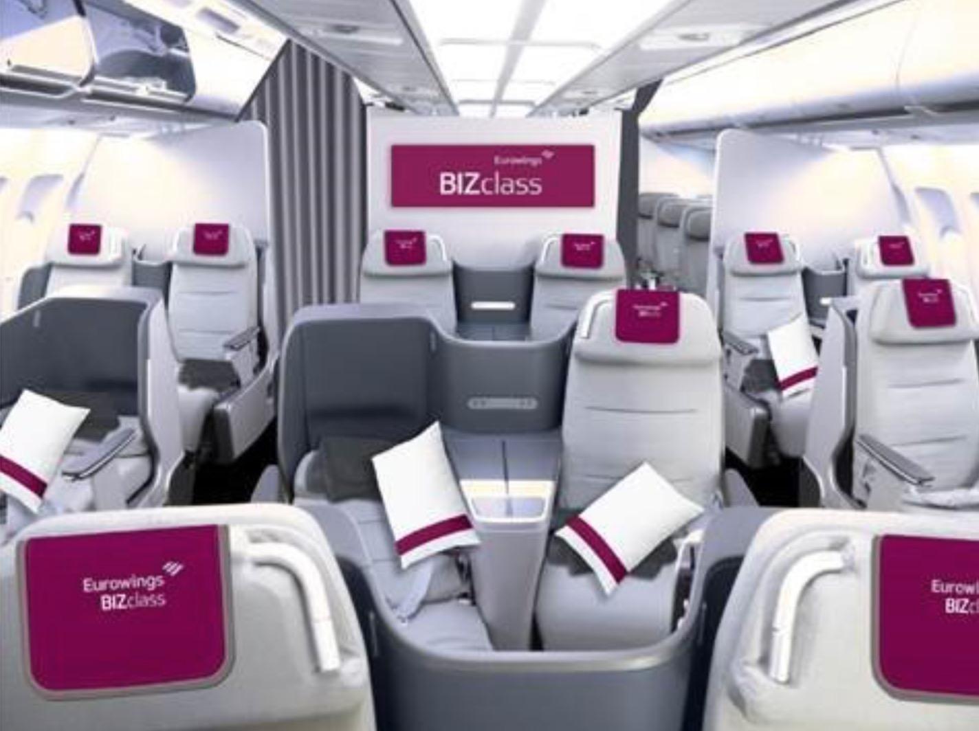 Eurowings business class