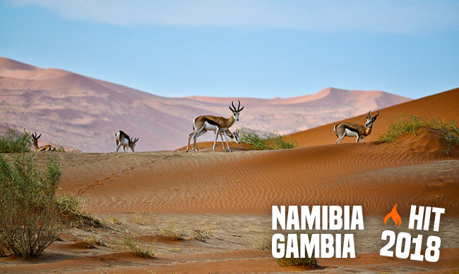 Namibia i Gambia