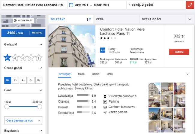 paryz hotel