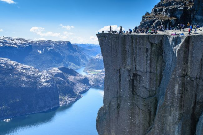 Preikestolen Norwegia