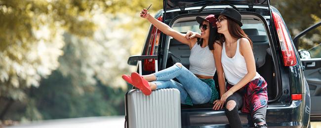 kobiety w podróży