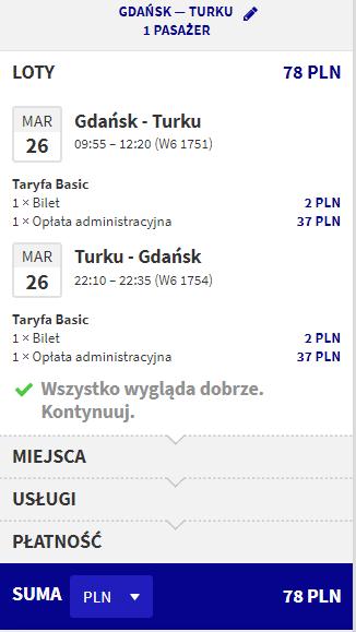 rezerwacja lotów z gdańska do turku