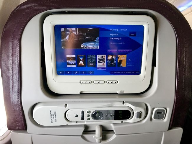 System IFE w samolocie