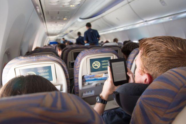 Rozrywka na pokładzie samolotu