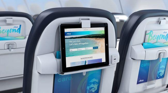 Podstawka na elektronikę w samolocie