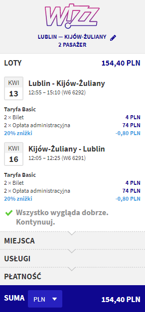 rezerwacja lotów do Kijowa