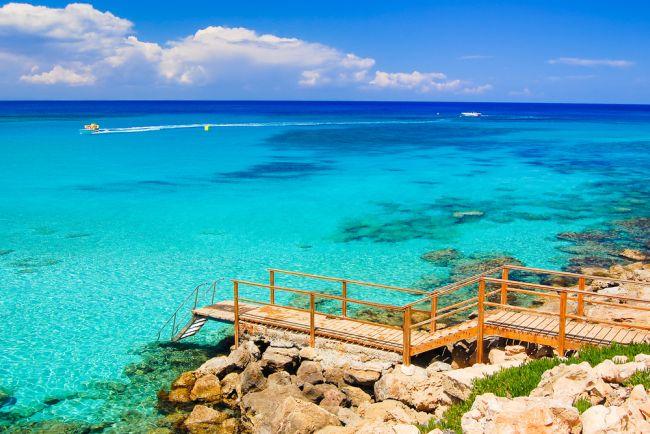 Cypr morze