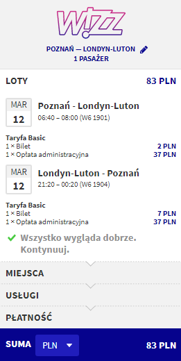 rezerwacja lotów do londynu z poznania