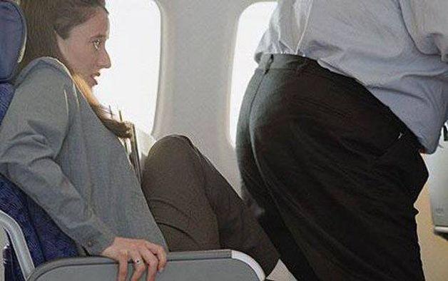 Zachowanie w samolocie
