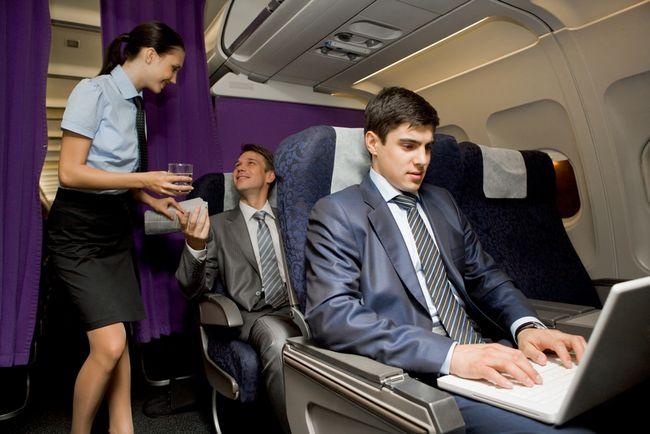 Praca w samolocie
