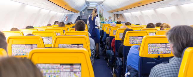 Ryanair kabina