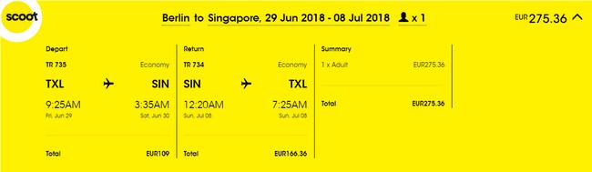 rezerwacja lotów do Singapuru