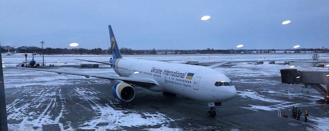 samolot Ukraine International Airlines