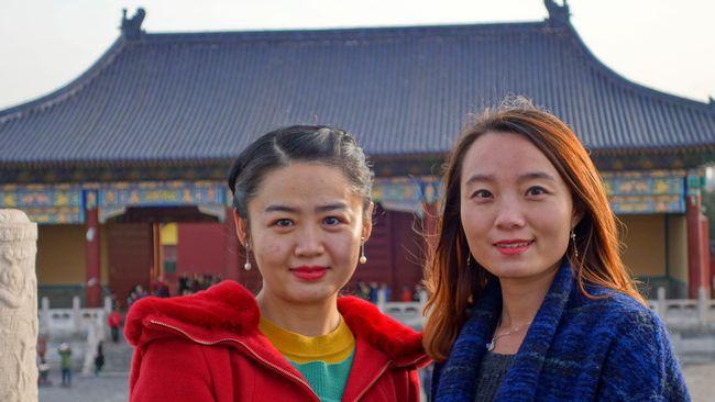 Turystki z Chin