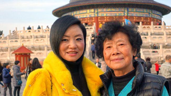 Chińskie turystki