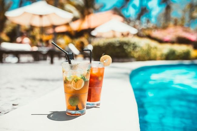drinki na basenie