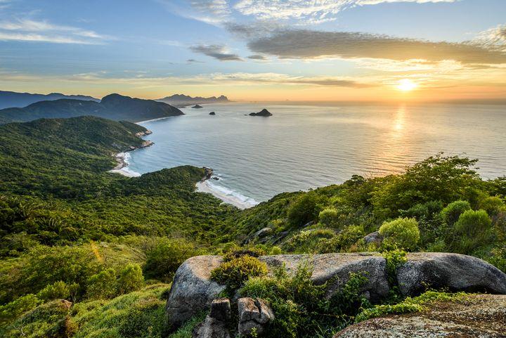 Pejzaż w Brazylii