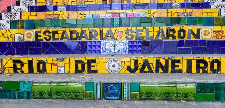 Schody w Brazylii