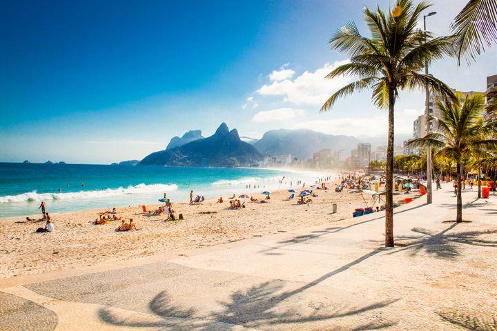 Plaża w Brazylii