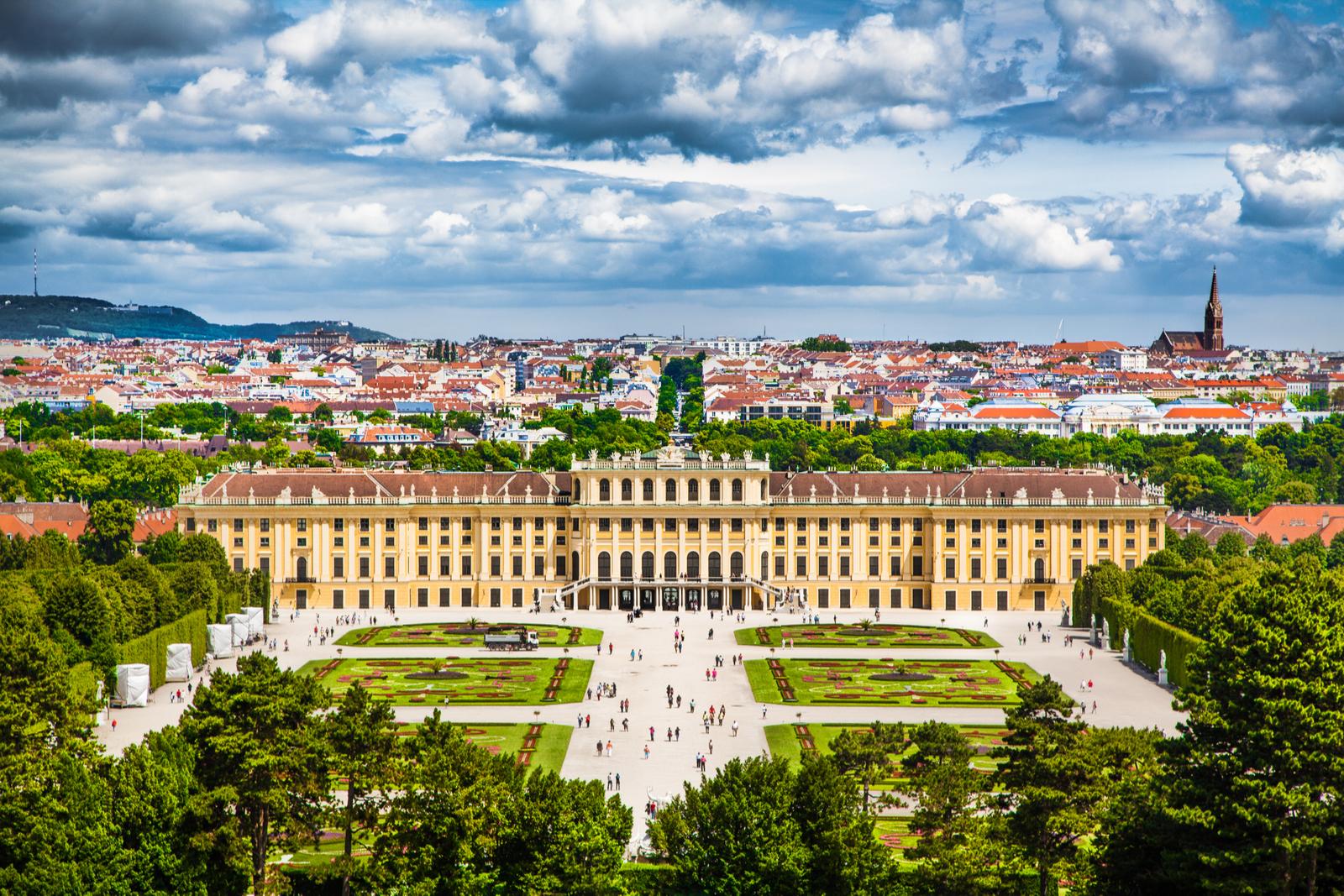 wieden shonbrunn pałac