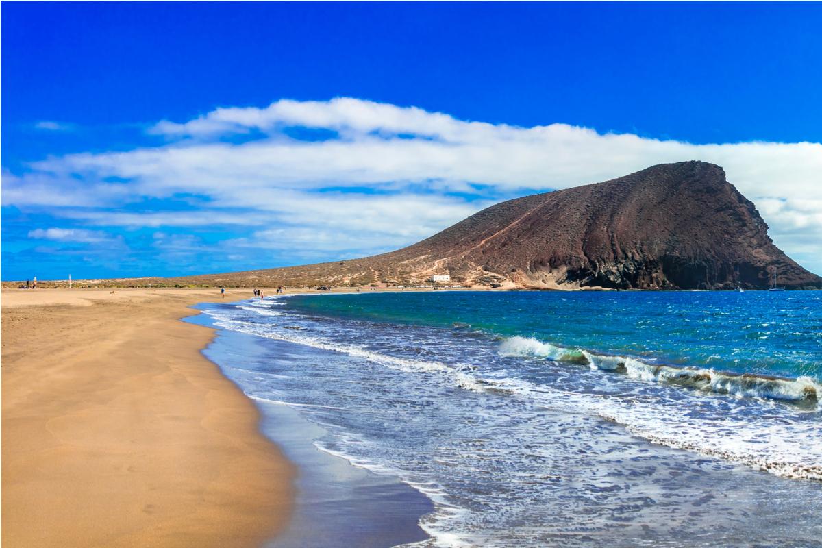 plaża na Treneryfie
