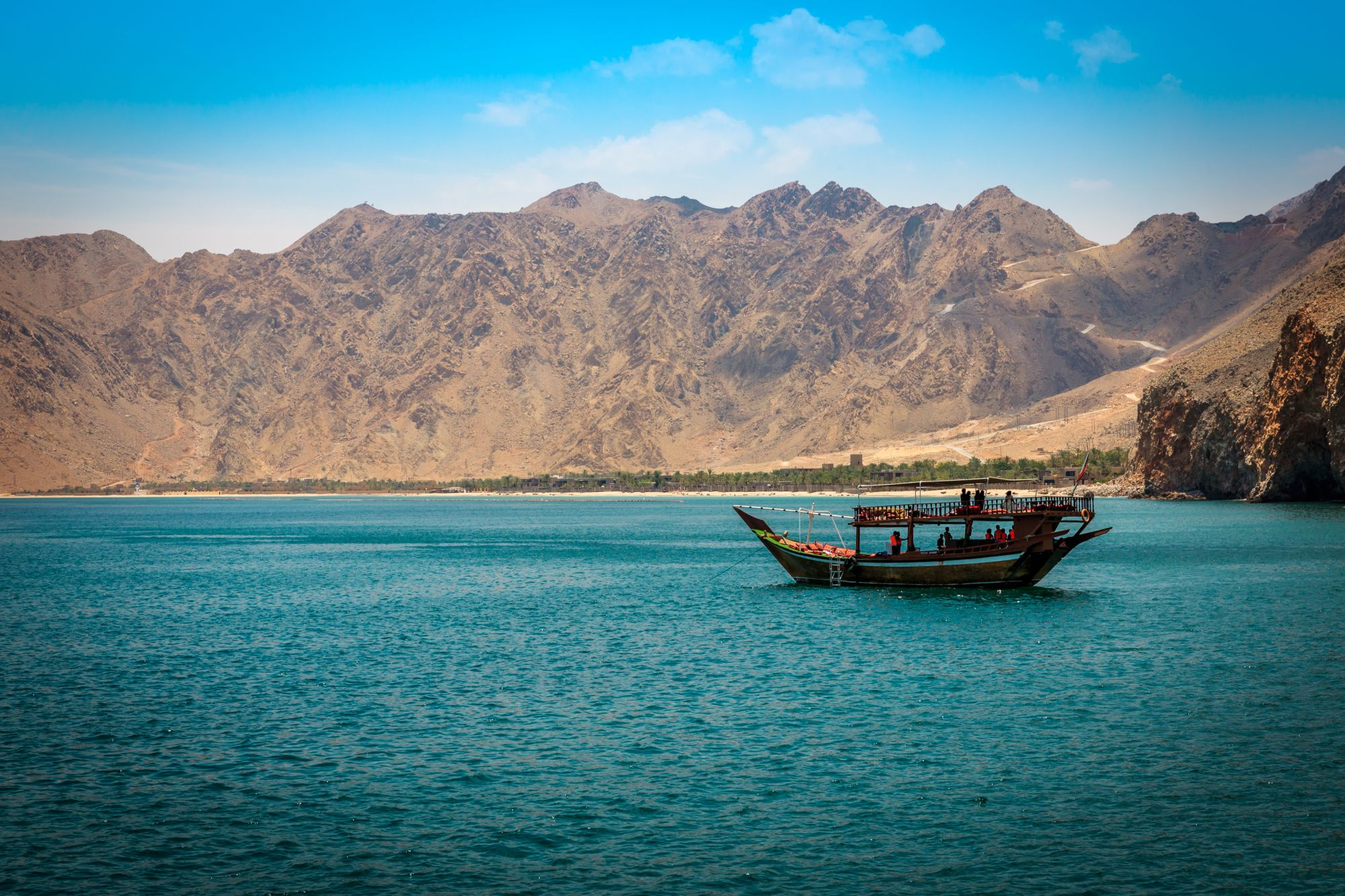 Oman widok