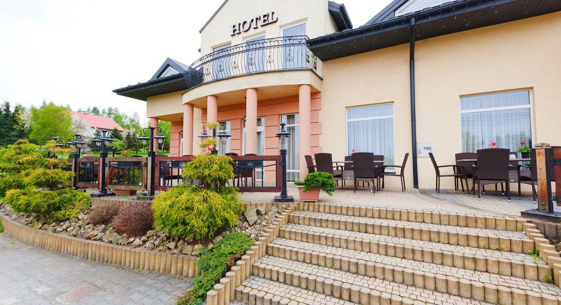 hotel w Wieliczce