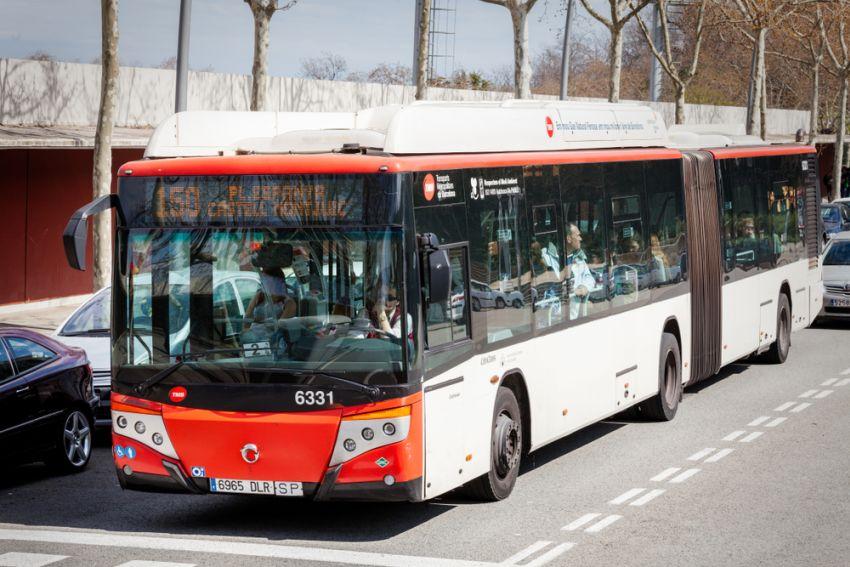 Autobus w Barcelonie