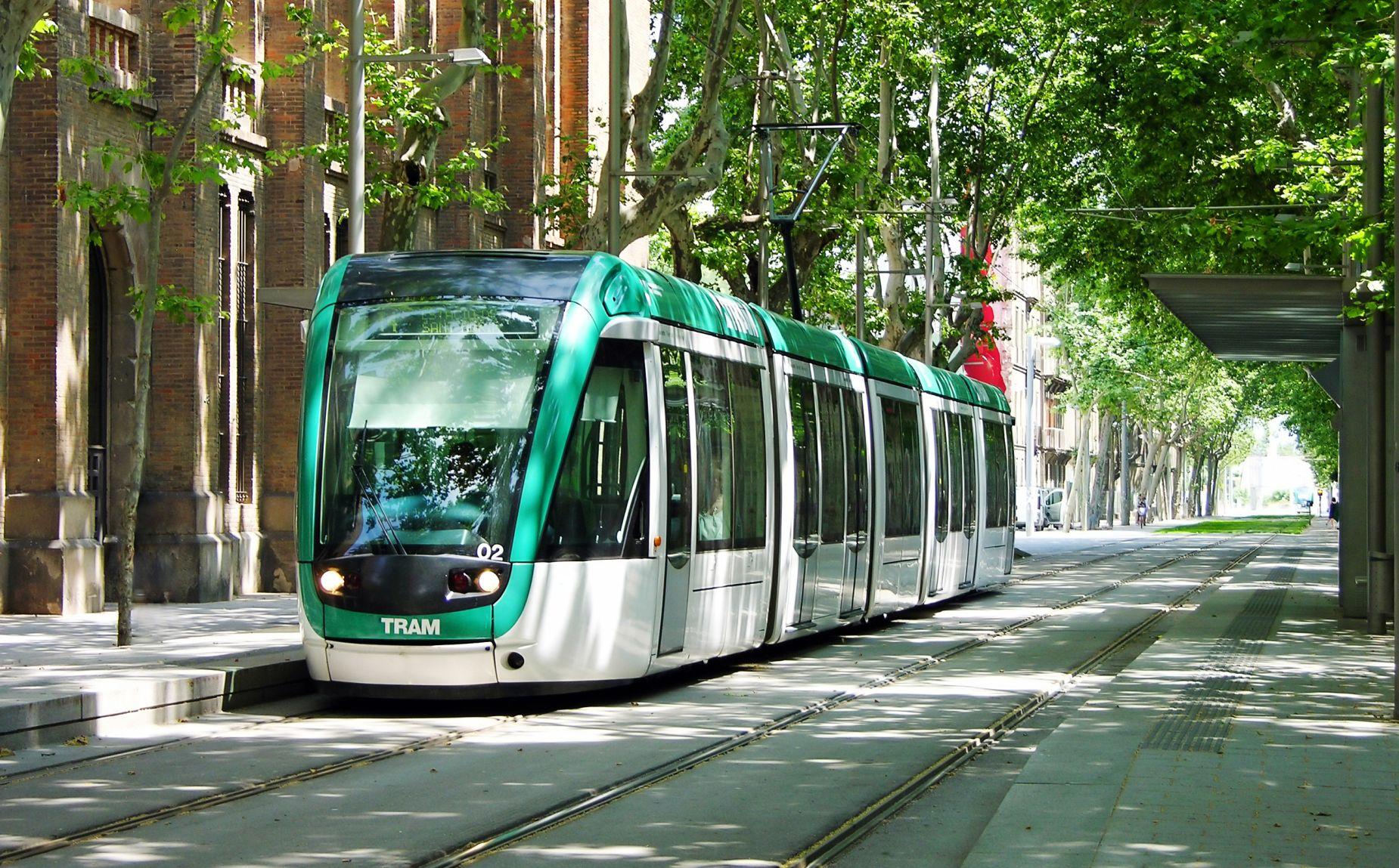 Tramwaj w Barcelonie