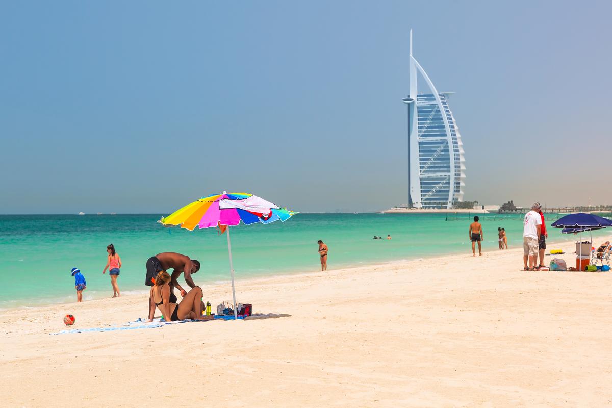 dubaj plaża