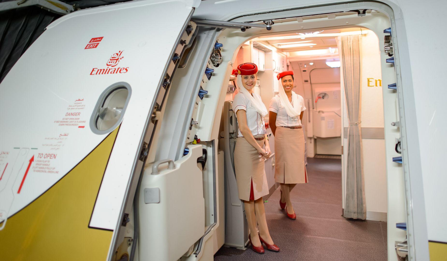 Personel pokładowy Emirates