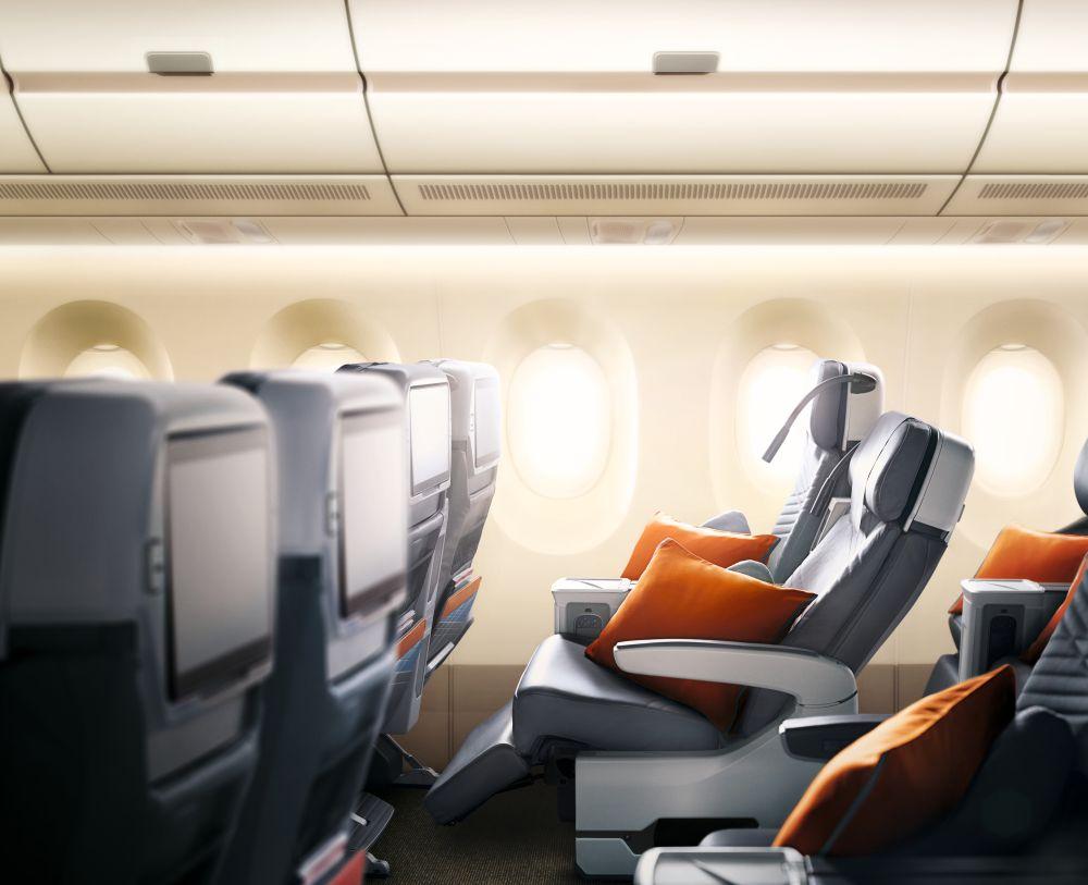 Singapore Airlines klasa premium economy