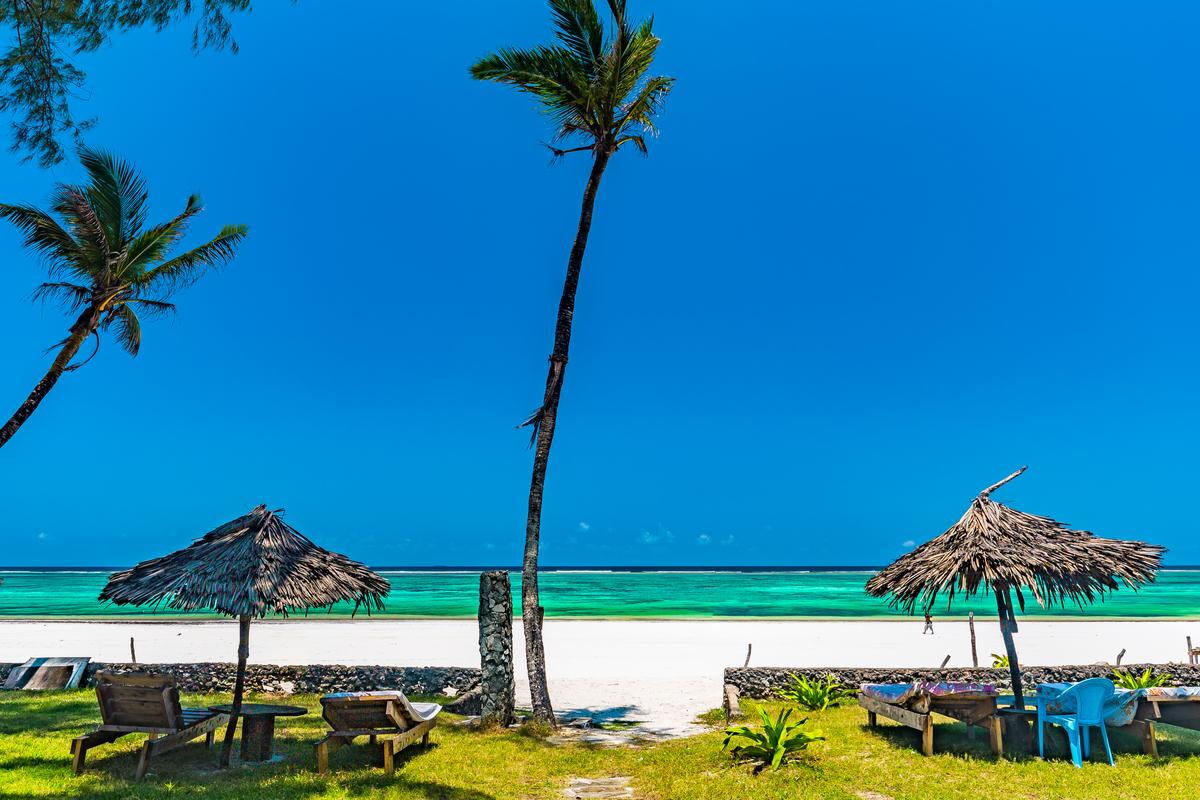 plaża w Kenii