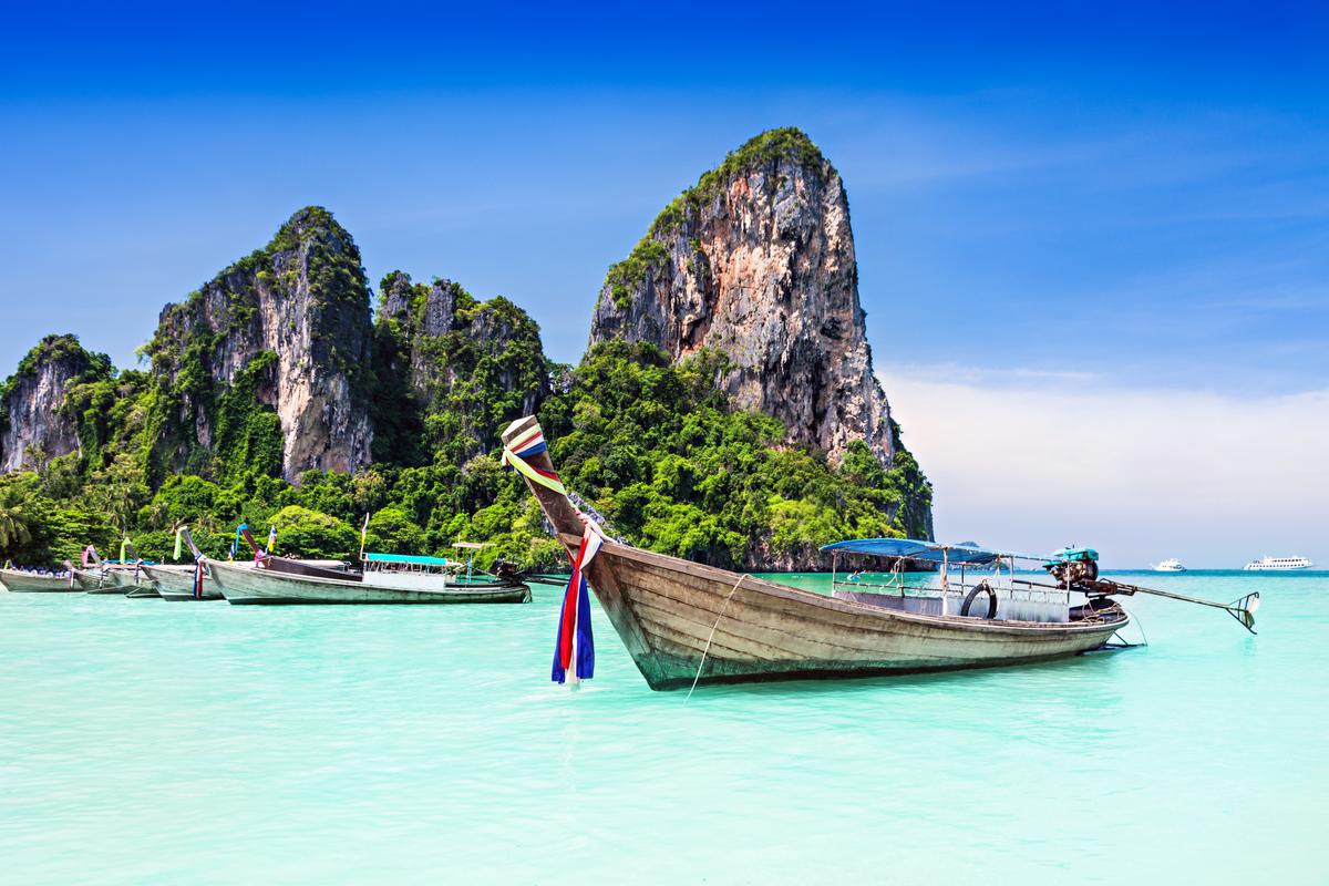 tajskie łódki
